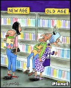 . old age, planets, hippi quot, geezer planet, women life, life funni, new age, humor, public libraries