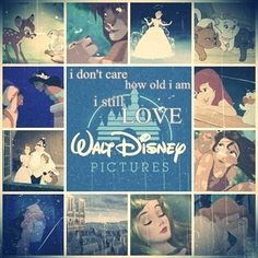 I will always love Disney (: