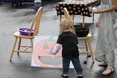 DIY Toddler Approved Halloween Carnival Games! #diy event games