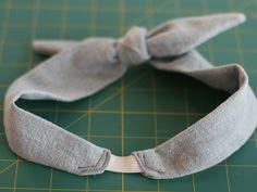 diy headband, headband diy, tutorials, hot yoga, bowti headband, bow ties, bows, headbands, vintage style