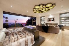 Master Suite with One TV