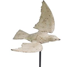 Early 1900s cast iron dove garden ornament