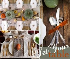 Fall-tablescape and place setting