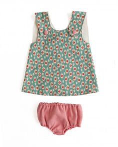 Crossover pinafore from Smashed Peas and Carrots