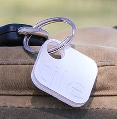 Lost-and-Found Bluetooth Accessory 'Tile' --I want a couple of these as soon as they're released.