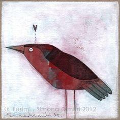 a bird, via Flickr.