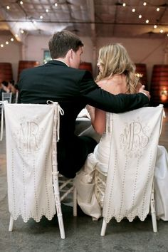 Mr. and Mrs Chair Covers