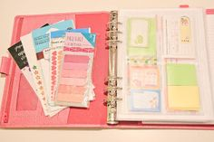 How To Set-Up Your First Filofax