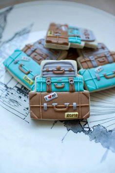 Suitcase cookies