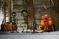 PartyLite Candles Mr. Bones Halloween Collection