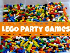 Lego party games: ideas kids will love from The Pleasantest Thing