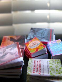 Barbie - 1:6 scale miniature Books! Books! Books! by Dragondeemini / LeneUx8, via Flickr