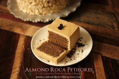 I am looking forward to making this Almond Roca Mocha Cake!