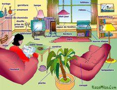 living rooms, esl, english vocabulari, teach languag, learn english, le salon, anglai, inglé, vocabulari english