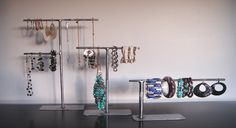 Jewelry Stand  Earrings  Bracelet Necklace by RobinsonWoodCompany, $26.00