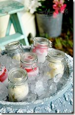 Tons of super cute outdoor party serving ideas! Cant wait to use these at all my summer cookouts! | did someone say party site