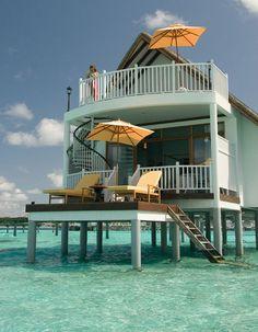 Centara Grand Island Resort & Spa. Maldives.