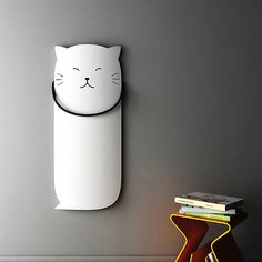 Ridea's Cute Cat Radiator –purrfect for a kid's room