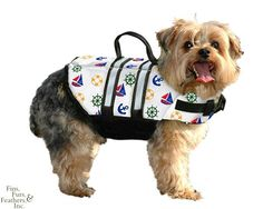 If you like taking your dog on boat travels or on swimming trips, getting your pet the right dog life-jacket is a good idea. #travel #pets #petgear