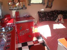 Coke is such a popular camper theme :)