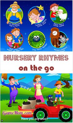 Free App: Nursery Rhymes for Kids | iGameMom