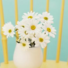 Simple. Lovely. Happy. Daisies.