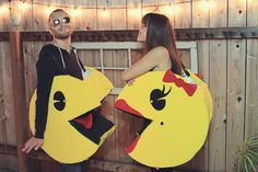 Julie Ann Art: Couples Halloween Costume: DIY Pacman