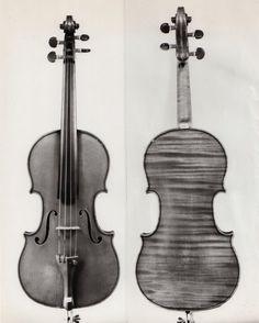Violin by J.B. Vuillaume, circa 1865.