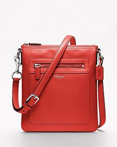 COACH Legacy Leather Swingpack | Bloomingdale's