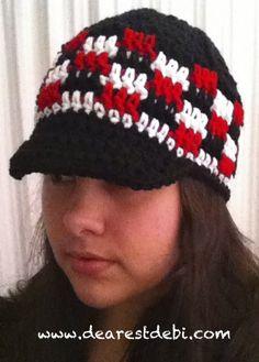A hat for him free crochet pattern by DearestDebi