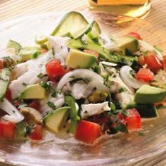 Mock Ceviche Recipe made with tilapia