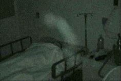 During a sleep study this was caught on a Sony infrared digital camera.