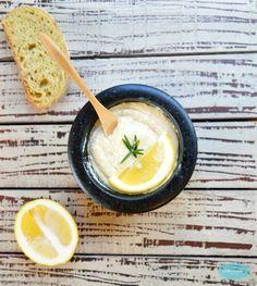 Lemon & Rosemary Hummus. By SweetAsHoneyNZ.