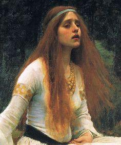 John William Waterhouse. The Lady of Shallott, 1888. Tate London