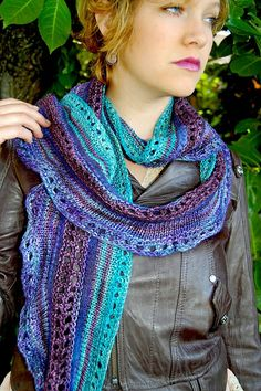 Ravelry: Good Magic Scarf pattern by Gina Wilde.