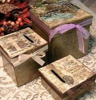 Decorative Prayer Boxes (Put your prayers in here and give it to God)