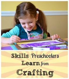 Preschool Learning Through Crafting #preschool