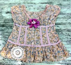 Boho Chic XL Ruffle Shirt Top Vintage by TrueRebelClothing on Etsy, $52.00