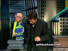 "A clip of Jeff Dunham and Melvin the superhero from Jeff's classic stand-up special and DVD, ""Spark of Insanity""."