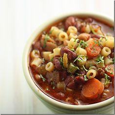 Pasta e Fagioli soup, just like Olive Garden