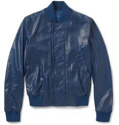 Bottega Veneta - Leather Bomber Jacket