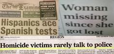 No wonder newspapers are becoming extinct!