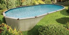 landscaping around above ground pool ideas - Google Search