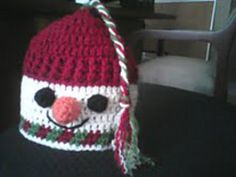 Snowman Hat this is so cute!