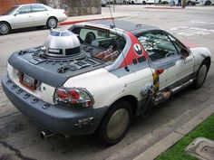 Star wars car | hasta donde llega la frikeria???