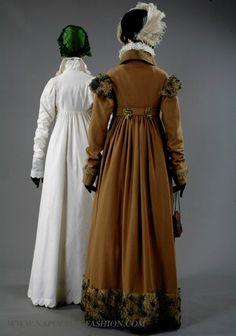 1809-10. Camel coat