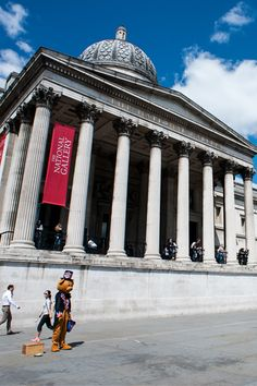 Standing proudly on the north side of Trafalgar Square, the National Gallery in London is truly one of the world's supreme art collections, with more than 2,300 masterpieces on show.