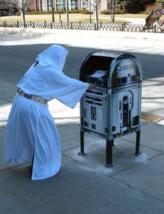You're my only hope...