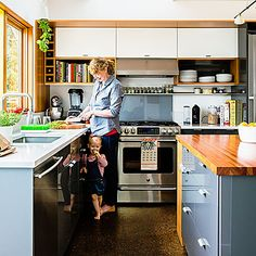 Top ideas for narrow kitchens