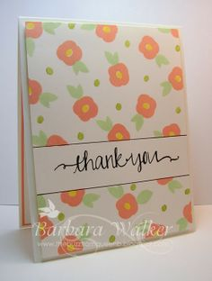 The Buzz: Thank You Cards featuring the Oh Happy Day stamp set from #Avery Elle